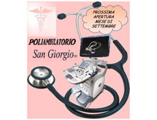 I Laboratori Analisi Mediche San Giorgio diventano Poliambulatori